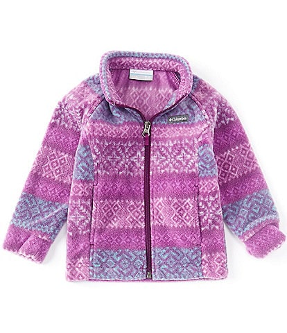 Columbia Baby Girls 3-24 Months Benton Springs II Fairisle Fleece Jacket