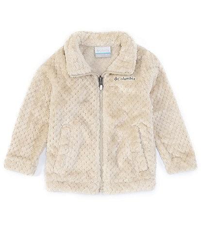 Columbia Baby Girls Newborn-24 Months Fire Side Faux-Sherpa Jacket