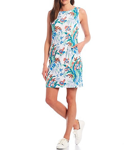 Columbia Chill River Printed Sleeveless Shift Dress