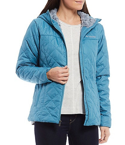 Columbia Copper Crest™ Quilted Zip Front Jacket with Hood