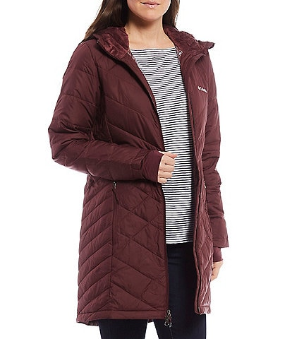 Columbia Heavenly Long Hooded Down Jacket