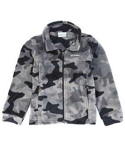 Columbia Little/Big Boys 4-18 Zing III Camouflage Fleece Full-Zip Jacket