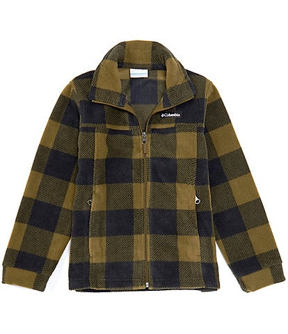 Columbia Little/Big Boys 4-18 Zing® III Plaid Fleece Jacket