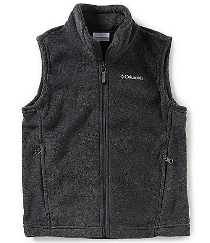 Columbia Little/Big Boys 5-20 Steens Mt Fleece Vest