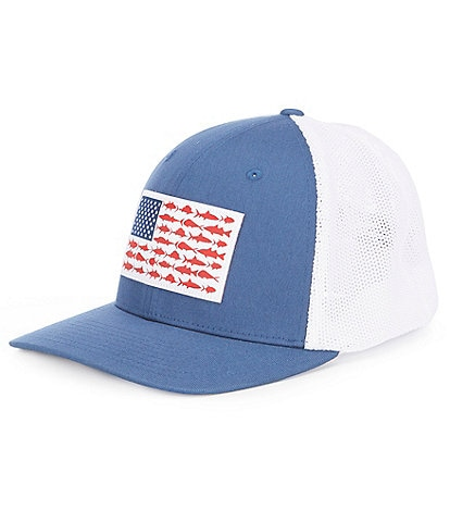 Columbia PFG Flag Mesh Cap