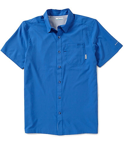 Columbia PFG Slack Tide Solid Camp Shirt