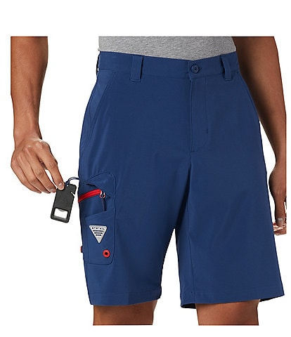 Columbia PFG Terminal 10#double; Inseam Tackle Shorts