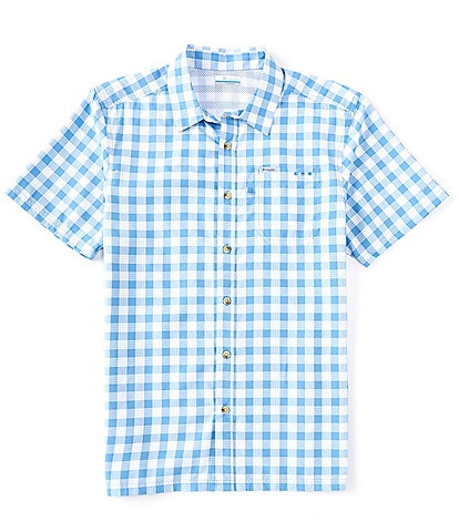 Columbia PFG Super Slack Tide Check Long-Sleeve Woven Shirt