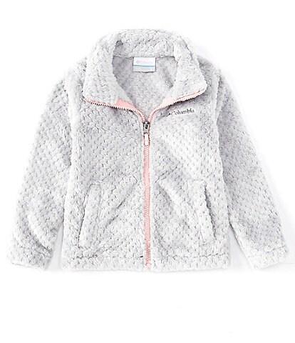 Columbia Toddler Girls 2T-4T Fire Side Faux-Sherpa Full-Zip Jacket