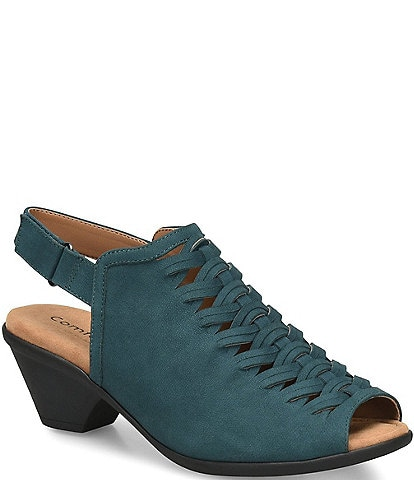 Comfortiva Finella Suede Slingback Sandals