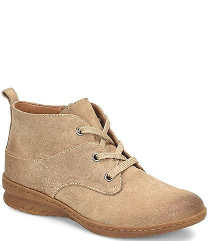 Comfortiva Forli Waterproof Suede Leather Desert Booties