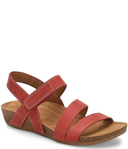 Comfortiva Gardena Banded Leather Sandals