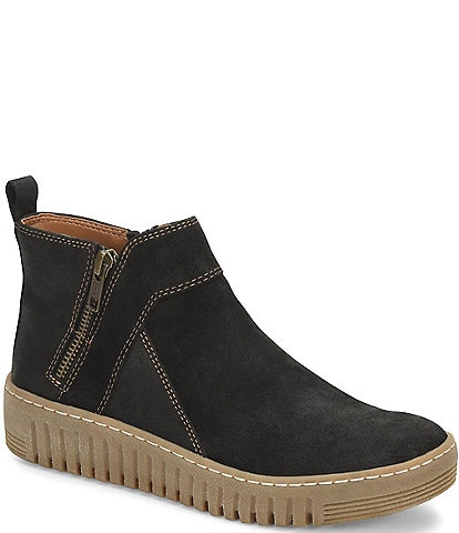Comfortiva Hartwick Suede Leather High-Top Sneakers
