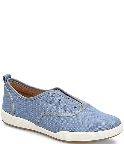 Comfortiva Lithia Canvas Slip On Sneakers