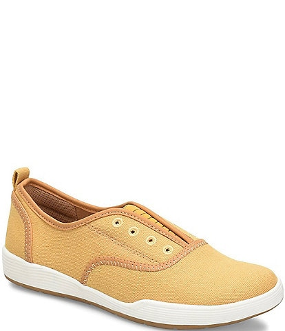 Comfortiva Lithia Canvas Slip On Sneaker