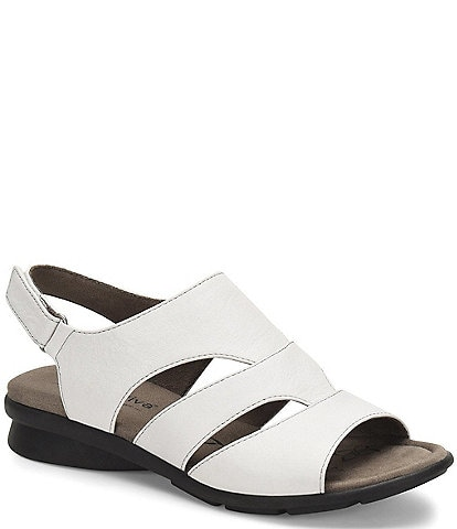 Comfortiva Parma Banded Leather Sandals
