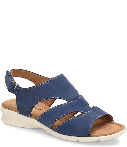 Comfortiva Parma Banded Suede Sandals