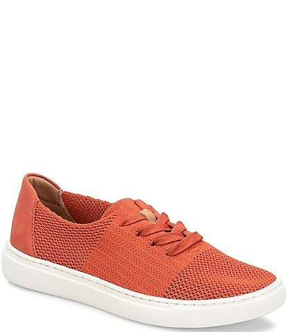 Comfortiva Trista Knit Mesh Lace Up Sneakers
