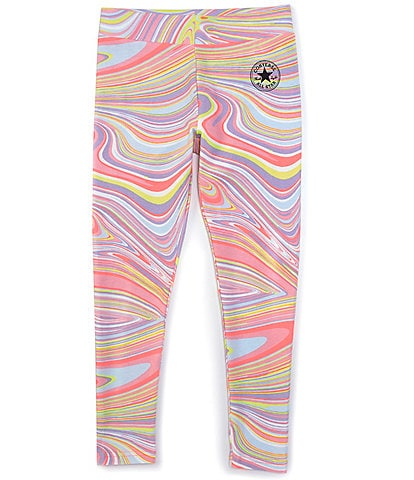 Converse Big Girls 7-16 Marble Chuck Patch Leggings