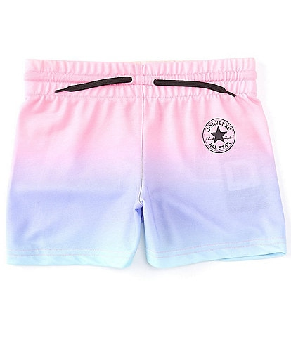Converse Big Girls 7-16 Ombre Baby French Terry Shorts