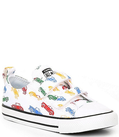 Converse Boys' Chuck Taylor All Star Cars Print 2V Oxfords (Infant)