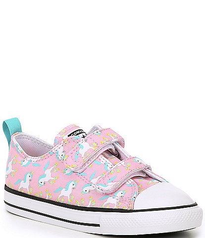 Converse Girls' Chuck Taylor All Star Printed 2V Oxford (Infant)