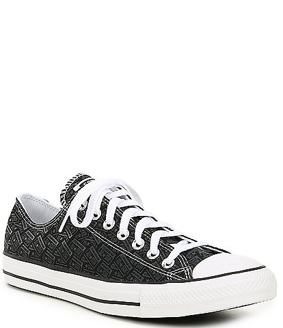 Converse Men's Chuck Taylor All Star Logo Play Printed Canvas Oxfords
