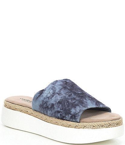 Cool Planet by Steve Madden Juniper Tie-Dye Platform Sandals
