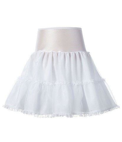 Copper Key Girls 2-12 Half Bouffant Petticoat Slip