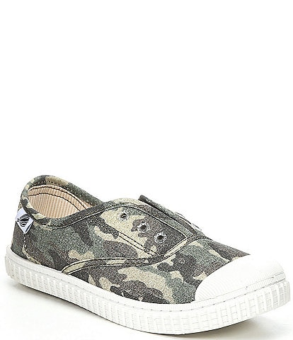 Copper Key Adventure Wear Kids' Budeee-A Washable Eyelet Camo Print Sneakers (Youth)