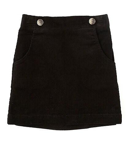 Copper Key Big Girls 7-16 Baby Corduroy Button Skirt
