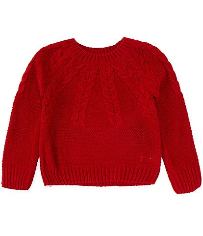 Copper Key Big Girls 7-16 Cable-Knit Sweater