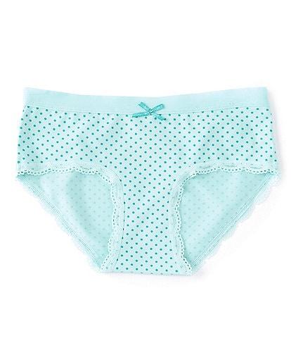 Copper Key Big Girls 7-16 Dotted Comfort Girlshort Panties