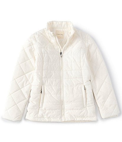 Copper Key Big Girls 7-16 Front Zip Nylon Quilted Puffer Snow Ski Jacket