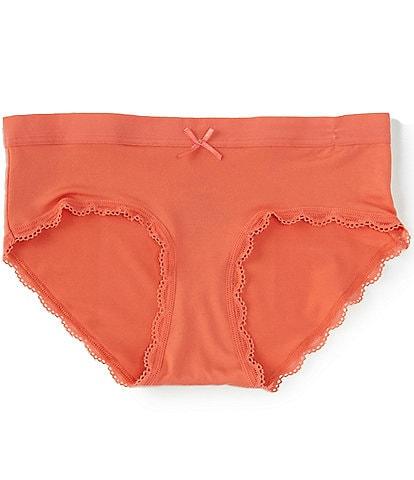 Copper Key Big Girls 6-16 Lace Comfort Girl Short Panties