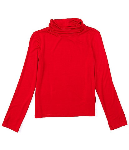 Copper Key Big Girls 7-16 Long-Sleeve Turtleneck Tee