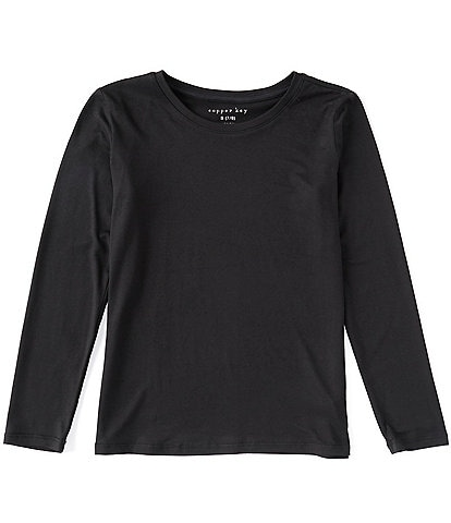 Copper Key Big Girls 7-16 Long Sleeve Yummy Top