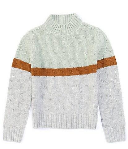 Copper Key Big Girls 7-16 Mock Neck Sweater