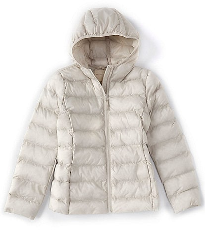 Copper Key Big Girls 7-16 Nylon Down Fill Puffer Jacket
