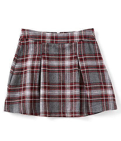 Copper Key Big Girls 7-16 Plaid Pleated Skirt