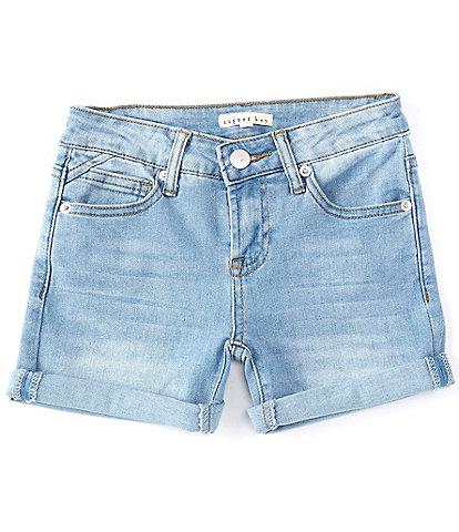 Copper Key Big Girls 7-16 Roll Cuff Shorts