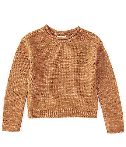 Copper Key Big Girls 7-16 Roll Neck Sweater
