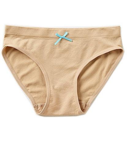 Copper Key Big Girls 7-16 Seamless Basic Hipster Panties