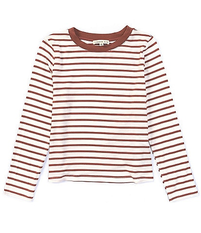 Copper Key Big Girls 7-16 Stripe Pullover Top