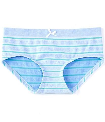 Copper Key Big Girls 7-16 Stripe Seamless Girl-Short Panties