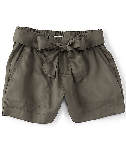 Copper Key Big Girls 7-16 Tie-Front Pull-On Short