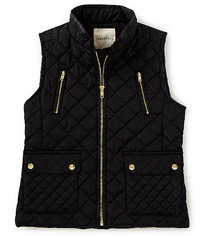 Copper Key Big Girls 7-16 Zipper-Front Vest
