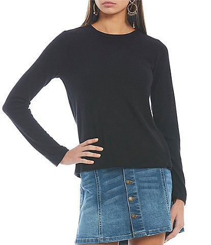Copper Key Brushed Long Sleeve Top