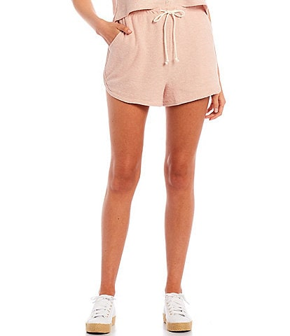 Copper Key Coordinating Mid Rise Knit Shorts