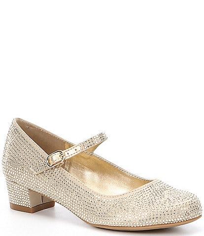 Gold Youth Girls' Dress Shoes | Dillard's
